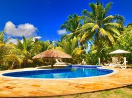 Recanto Caiçara Pousada, beach hotel in São Miguel dos Milagres