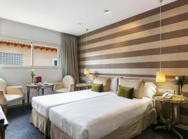 Globales Acis y Galatea, hotel cerca de Wanda Metropolitano, Madrid
