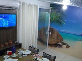 KITNET COM AR CONDICIONADO, TV A CABO E WI-FI..., apartment in Itapema