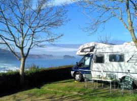 Kaixo Autocaravana en camping Zarautz