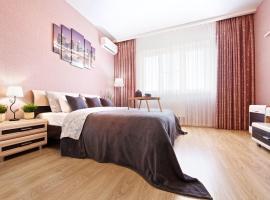 Апартаменты возле ТЦ Галерея в Центре Краснодара, accessible hotel in Krasnodar