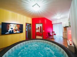 50 nijansi crvene, hotel in Baška Voda