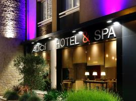 Altos Hotel & Spa, accessible hotel in Avranches