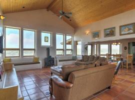 Traditional Taos Home on 26 Acres w/Mountain Views