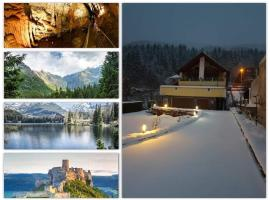 Luxury Chalet for skiing and hiking with Jacuzii and saunas for 14 people