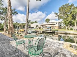 Spacious and Hip Crystal River Home with Dock and Kayaks!