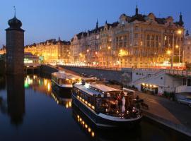 Boat Hotel Matylda, Ferienunterkunft in Prag