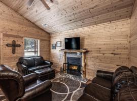 Eagle Creek Cabin 5, 1 Bedroom, Grill, Fire Pit, Sleeps 4