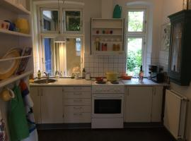3 room apartment in medieval Ribe