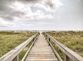 NEW Oceanfront Carolina Beach Condo w/Pool & Views