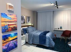 Fusion SHN Flat de luxo - Melhor localização de Brasília