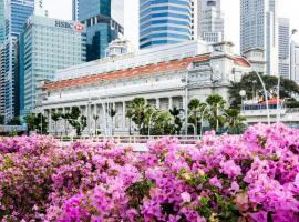 The Fullerton Hotel Singapore (SG Clean) โรงแรมใกล้ สิงคโปร์ฟลายเออร์ ในสิงคโปร์