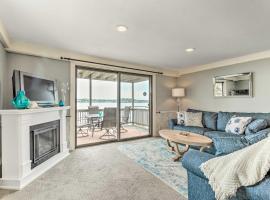 Oceanfront Salem Condo w/ Deck, Walk to Beach, hotel in Salem
