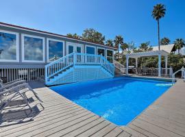 Home w/ Deck & Dock on San Jacinto River!