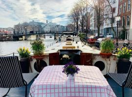 Romantic Houseboat, B&B in Amsterdam