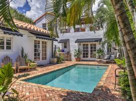 West Palm Beach Cottage w/Pool-4 Miles to Beach!