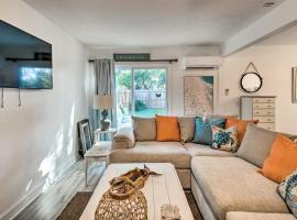 Pet-Friendly Beach Home w/Patio, 8mi to Shore