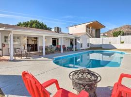 Desert Refuge w/ Pool, Yard + Mountain Views!