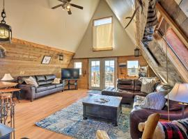 Classic Cabin w/ 360 Mtn View, 30Mi to Breck!, hotel in Fairplay