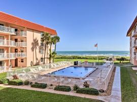 Oceanfront Condo w/ Balcony & Community Pool!