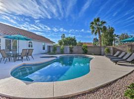 Desert Oasis w/ Pool+Yard Near TPC Scottsdale