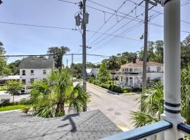 Historic St. Augustine Apt - Walk to Town & River!