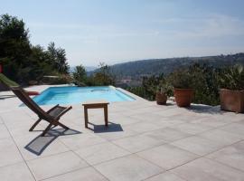 Les terrasses du Rhône