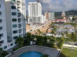 Likas Square #JC Stay # Kota Kinabalu City #Spacious