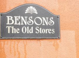 Bensons Old Stores, hotel in Lyme Regis