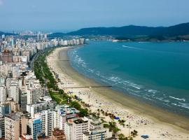 Linda cidade de Santos 505, hotel in Santos
