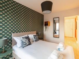 Paris - Porte d'Ivry - Modern and Cosy 2 bedroom apartment