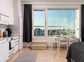 ULEABO Penthouse Studio with a Stunning View in Oulu!