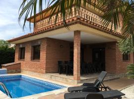 Unique six bedroom villa with private pool