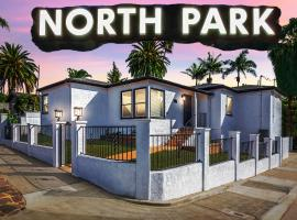San Diego, North Park - Chic Backyard, California Vacation Experience