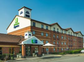 Holiday Inn Express Derby Pride Park, hotel in Derby