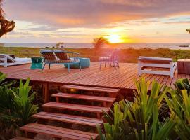 Pousada Villa Pantai, beach hotel in São Miguel dos Milagres