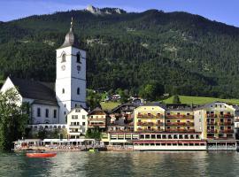 Romantik Hotel Im Weissen Rössl, Hotel in St. Wolfgang