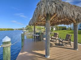 Waterfront Luxury Home w/ Private Dock, Lanai