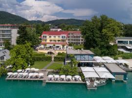 Seehotel Dr. Jilly, golf hotel in Pörtschach am Wörthersee