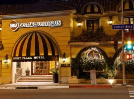 Best Western Plus Sunset Plaza Hotel, hotel in Los Angeles