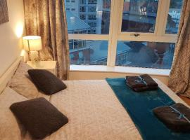 Spacious City Centre 2 Bedroom Apartment with onsite Car Parking