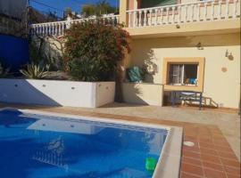 Casa Sanne villa con piscina