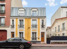 Large house with garden at the doors of Paris in Montrouge - Welkeys