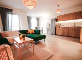 Comfortable and spacious apartment- Dmowskiego street, pet-friendly hotel in Wrocław