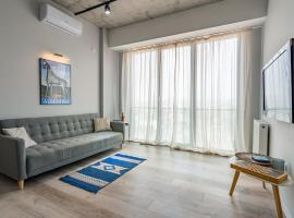 OUTLOOK TOWER Loft Apartment with Stunning view, hotel in Tbilisi City