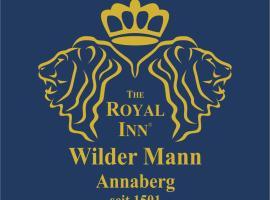The Royal Inn Wilder Mann Annaberg, Hotel in Annaberg-Buchholz