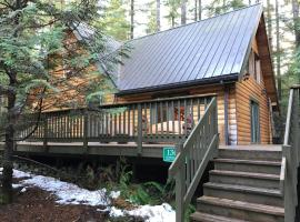 08MBR - Log Home - BBQ - WiFi - Sleeps 8 home, hotel v destinaci Glacier