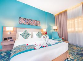 MENA Plaza Hotel Albarsha, hotel near Mall of the Emirates, Dubai