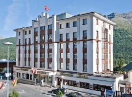 Hotel Schweizerhof St. Moritz, hotel a Sankt Moritz