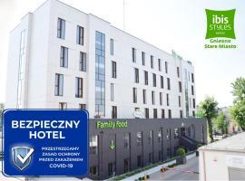 Ibis Styles Gniezno Stare Miasto, family hotel in Gniezno